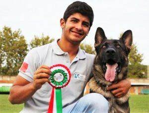 Algarve News über deutschen Schäferhund Scar und seinen Sieg
