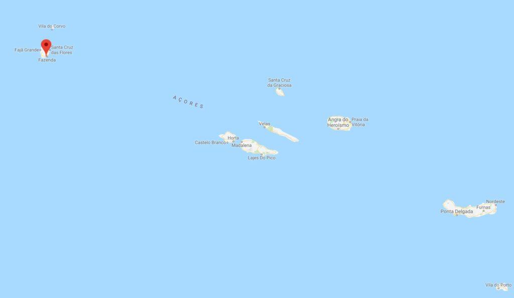 Wirbelsturm-Schäden durch Lorenzo waren auf den Azoren am heftigsten im Westen