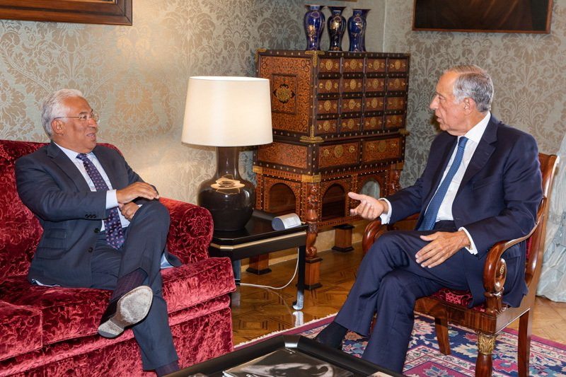 Covid-19 Ausnahmezustand Portugal Präsident Ministerpräsident